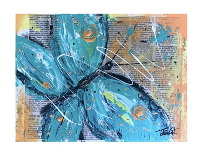 Blue Butterfly -Prints