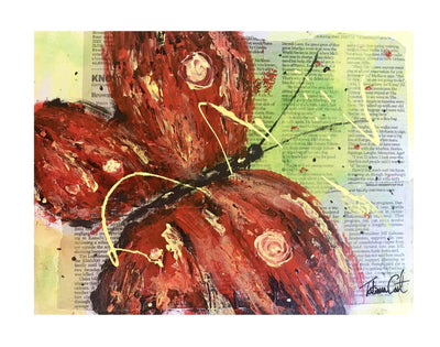 Red Butterfly -Prints