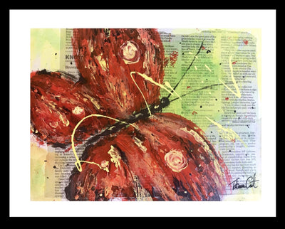 Red Butterfly -Prints - TatianaCast