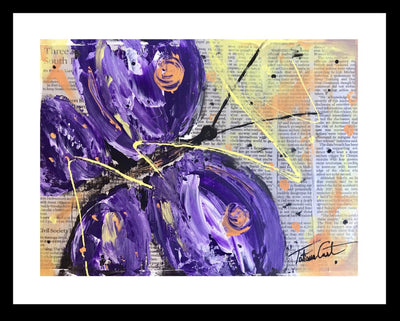 Purple Butterfly -Prints