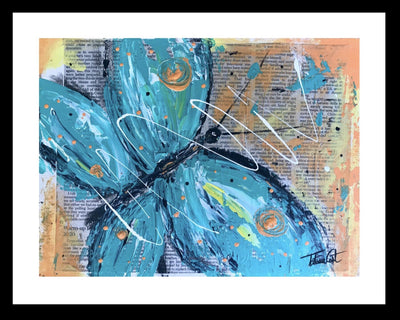 Blue Butterfly -Prints - TatianaCast