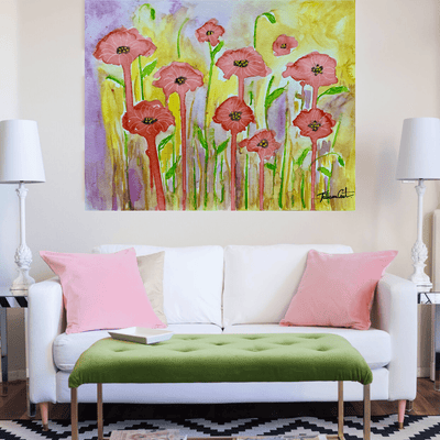Whimsical Poppy Field -Limited Edition - TatianaCast