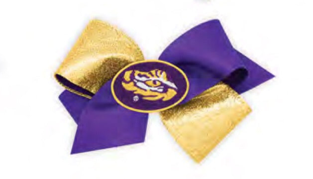 LSU Two Toned Bow