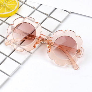 Flower Rimmed Sunglasses