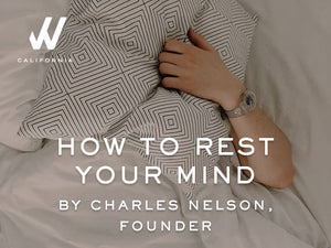 How To Rest Your Mind