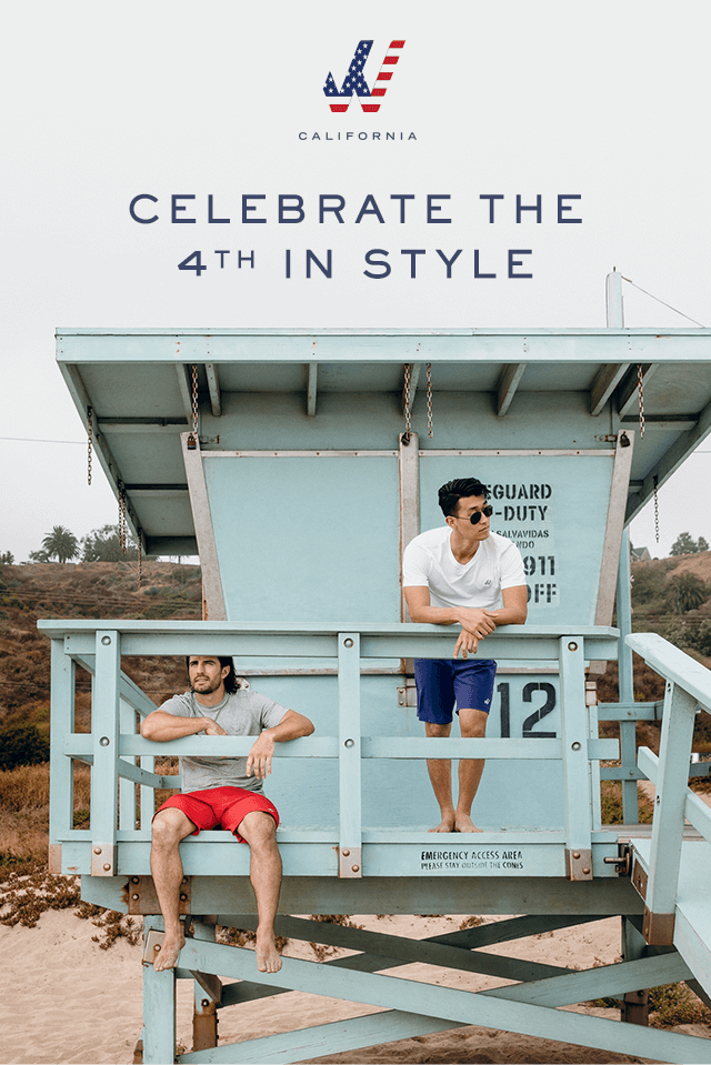 CELEBRATE THE 4th IN STYLE