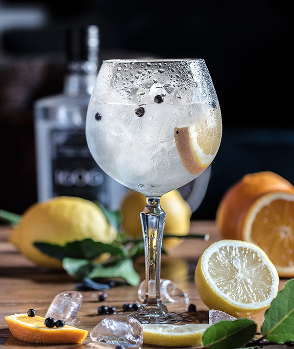 Gin and tonic with clove and orange (Photo by Jez Timms)