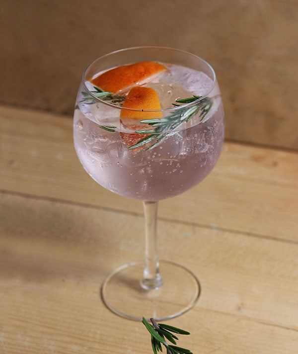 Gin and tonic with rosemary and grapefruit (Photo by Nicola Dreyer)
