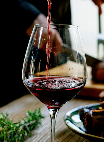 A glass of red  (photo: Lefteris kallergis)