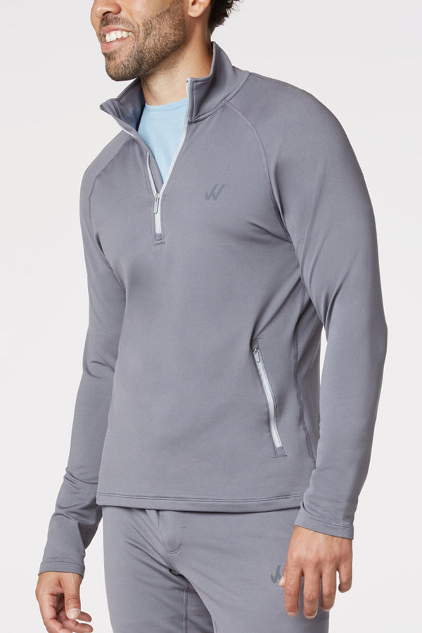 502 THE QUARTER-ZIP PULLOVER