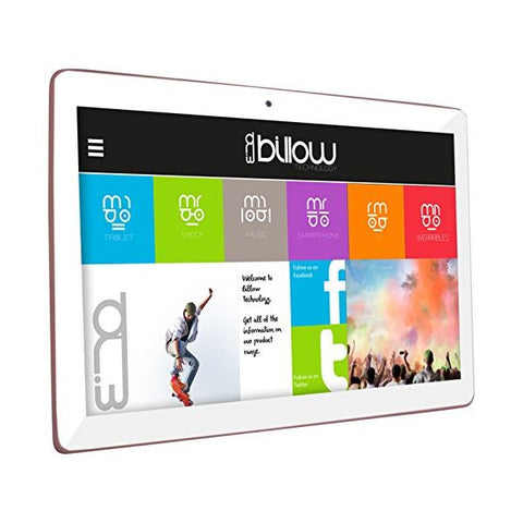 Tablet Billow PPOTAB0892 X103P HD IPS 16 GB 3G 10,1'''' Rosa