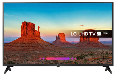 "Smart TV LG 49UK6200PLB 49"" LED UHD WIFI Schwarz"