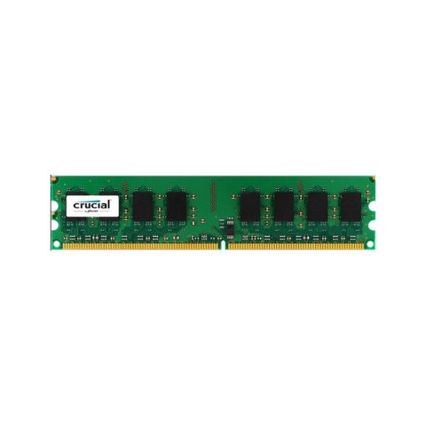 Crucial IMEMD20045 CT25664AA800 2GB DDR2 800 MHz PC2-6400 CL6