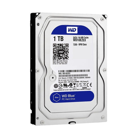 Western Digital Blue Interne 1000 GB Serial ATA III