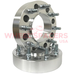 2) 8x200 Hub Centric Wheel Spacers For 2005 & Newer Ford F-350 Super Duty Dually Trucks 14x1.5 Studs