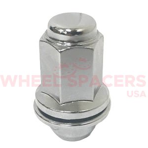 "24 Toyota Tall OEM Style Lug Nuts With Washer 12x1.5 | Fits All Toyota OEM Rims 1.87"" Tall"