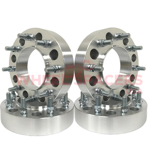 4) 8x200 Hub Centric Wheel Spacers For 2005 & Newer Ford F-350 Super Duty Dually Trucks 14x1.5 Studs