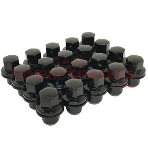 20 Land Rover OEM Style Lug Nuts 14x1.5 | Fits Evoque Range Rover Discovery LR2 LR3 LR4
