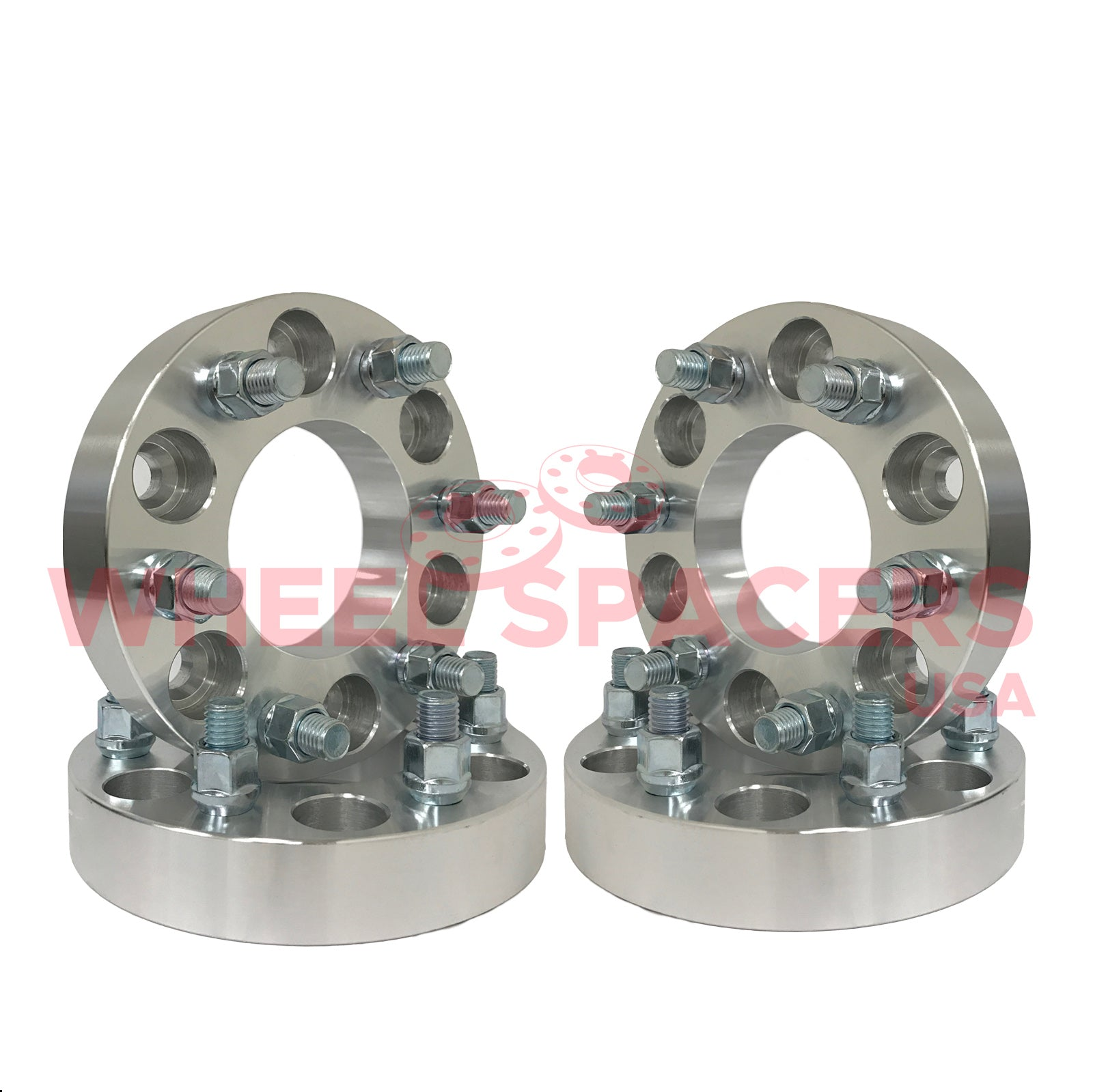 """2 fits ALL Toyota Land Cruiser Models Wheel Spacers Adapters 1.5/"""" thick 6 lug"""
