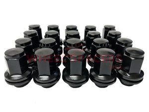 2007 & Newer Toyota Tundra OEM Factory Lug Nuts 14x1.5 | For All OEM Tundra Wheels 5x150 Black or Chrome Lugs for Toyota
