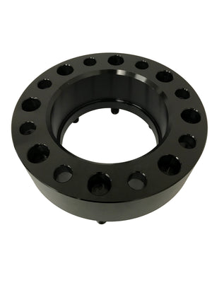 2) 8x170 Hub and Wheel Centric Wheel Spacers For 2003 & Newer Ford F-250 F-350 Superduty Excursion Trucks 14x1.5 Studs Hubcentric 125mm Center Bore With Lip