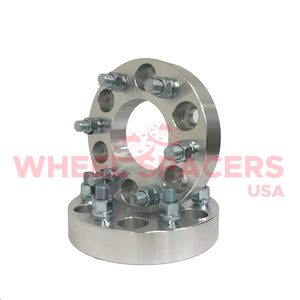 2) 6x5.5 Wheel Spacers For Chevy & GMC 6 Lug Trucks Also Known as 6x139.7 14x1.5 Threads Fits Most 6 Lug Chevy & GMC 108mm Big Bore