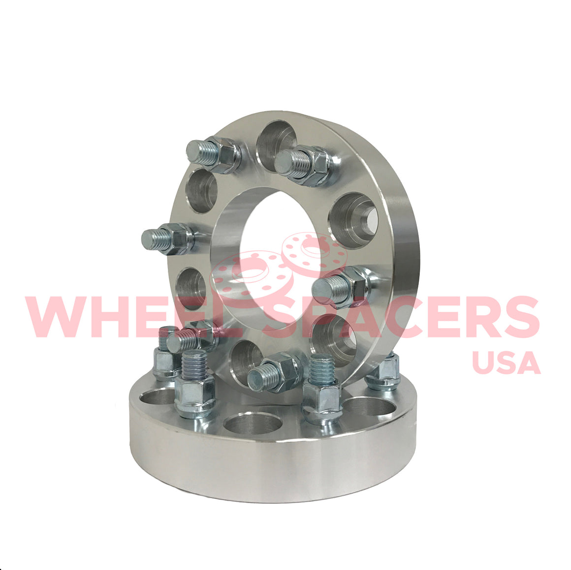 4) 6x135 Hub Centric Wheel Spacers For 2004-2014 F-150 6 Lug Trucks 14x2 Threads 87.1mm Hub and Wheel Centric Bore