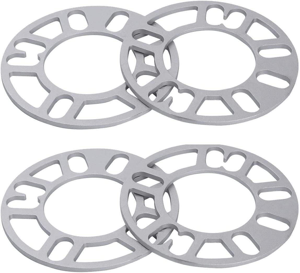 "2 Wheel Spacers 3Mm 1/8"" For All 4X100 4X4.5 5X4.75 5X4.25 5X112 5X4.5 5X120 5X5 Vehicles"