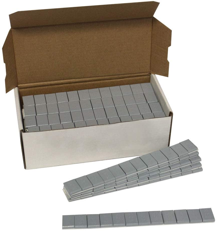 1 Box 1/4 Oz (.25 Ounces) Wheel Weights Stick On Adhesive Tape 144 Oz 576 Pcs 10 lbs Free Shipping