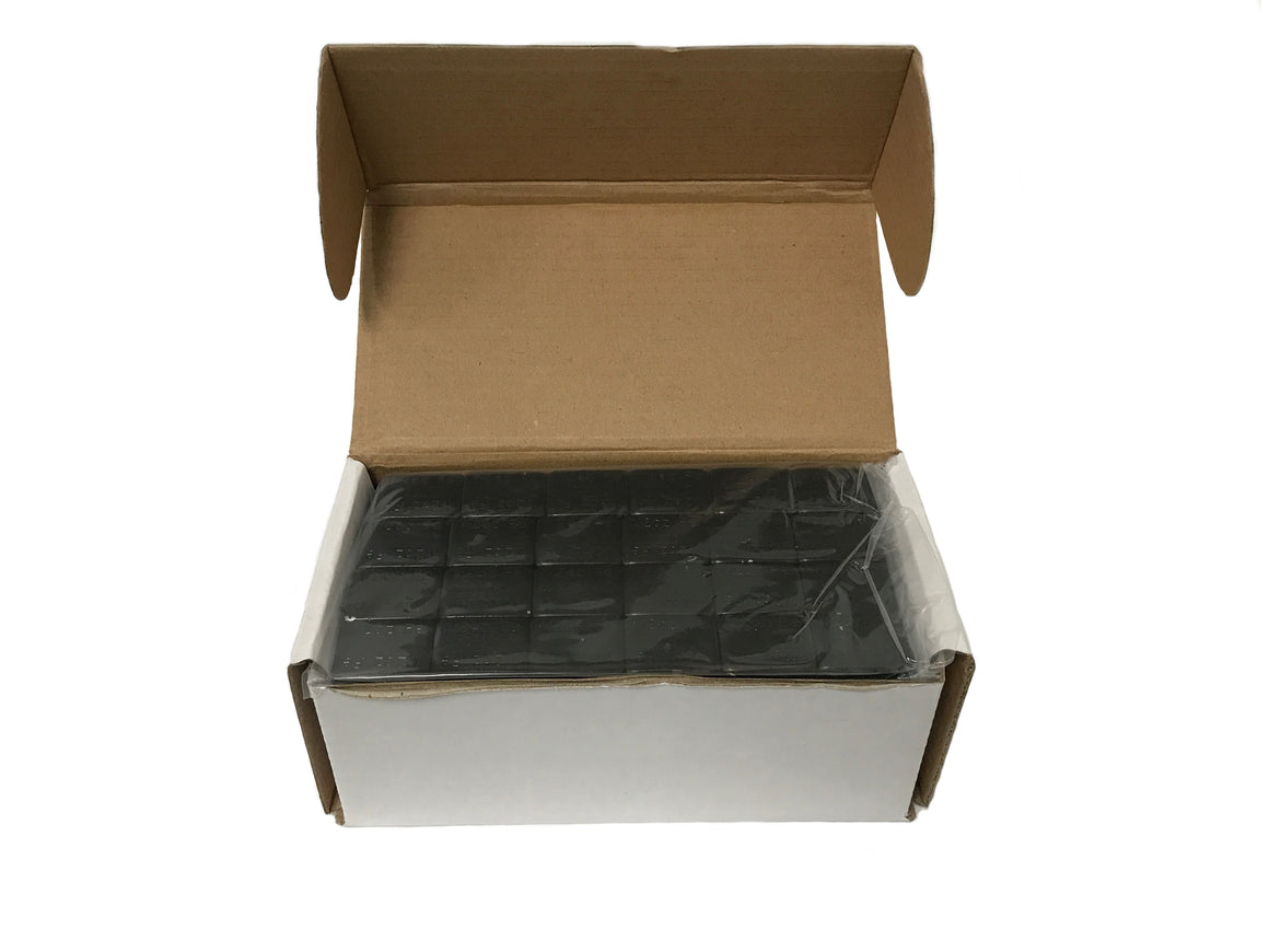 1 Box Black Stick On Wheel Weights 1/4 Oz (.25 Ounces) Adhesive Tape 624 Pcs!