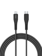 USB C to Lightning Cable Nylon Braided 1.5 Meters