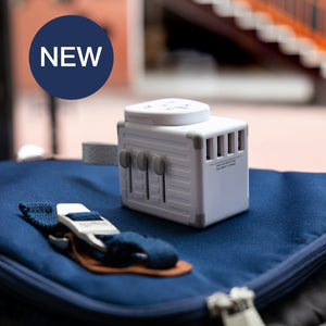 eLUGGAGE S Worldwide Travel Smart Adaptor 4 USB Ports - Zikko