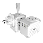 eLUGGAGE S Worldwide Travel Smart Adaptor 4 USB Ports (ES400)