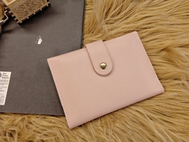 BGAL- 0368 Pink minimal card holder wallet