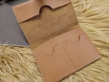 Load image into Gallery viewer, BGAL- 0368 Brown minimal card holder wallet