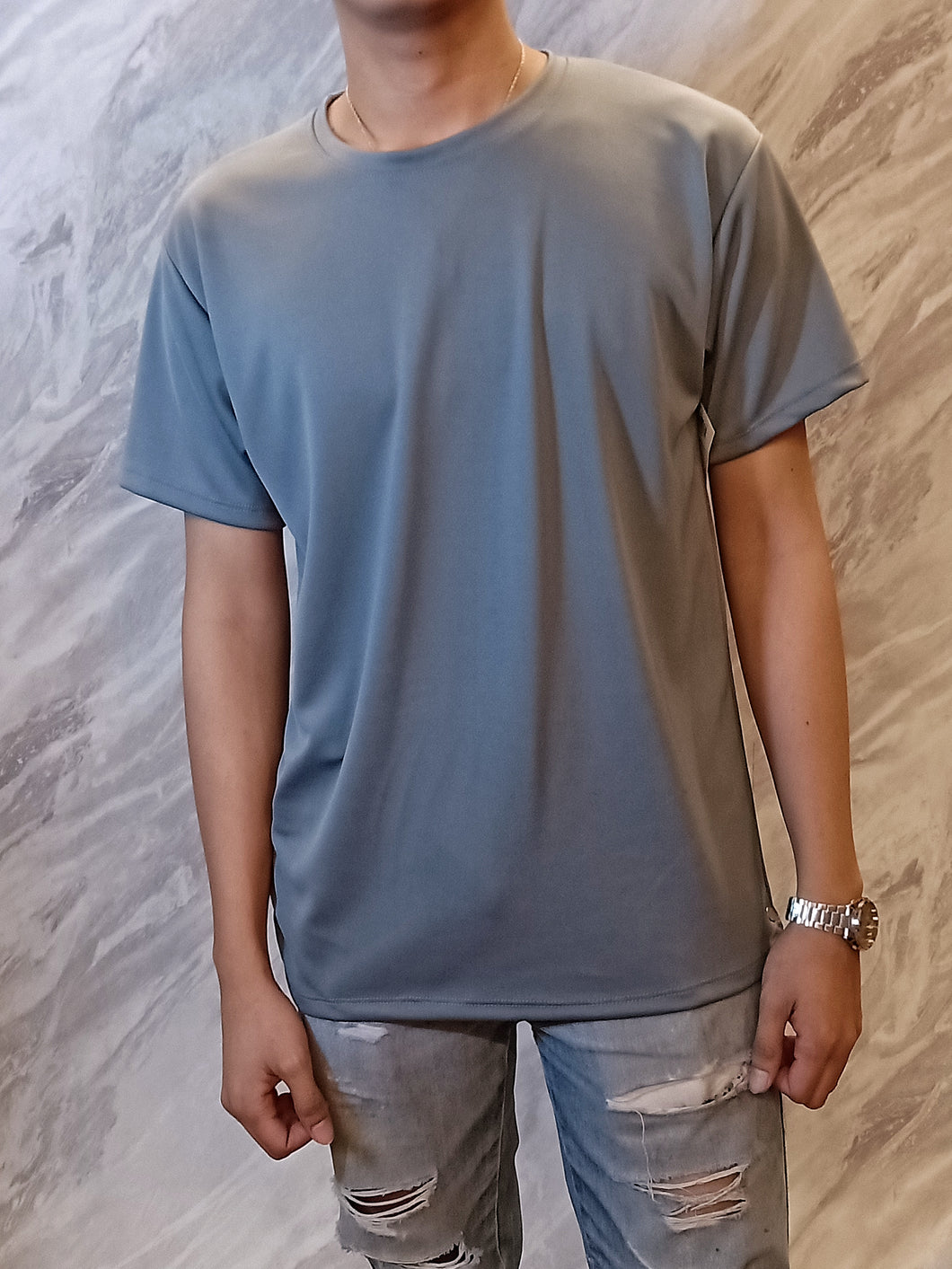 Gray drifit shirt