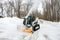 EZ Snow-Away-Commercial Standard Flow Hydraulic Snowblower