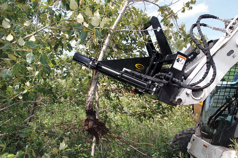 "40"" length provides clearance to the cab while clearing trees and surrounding brush"
