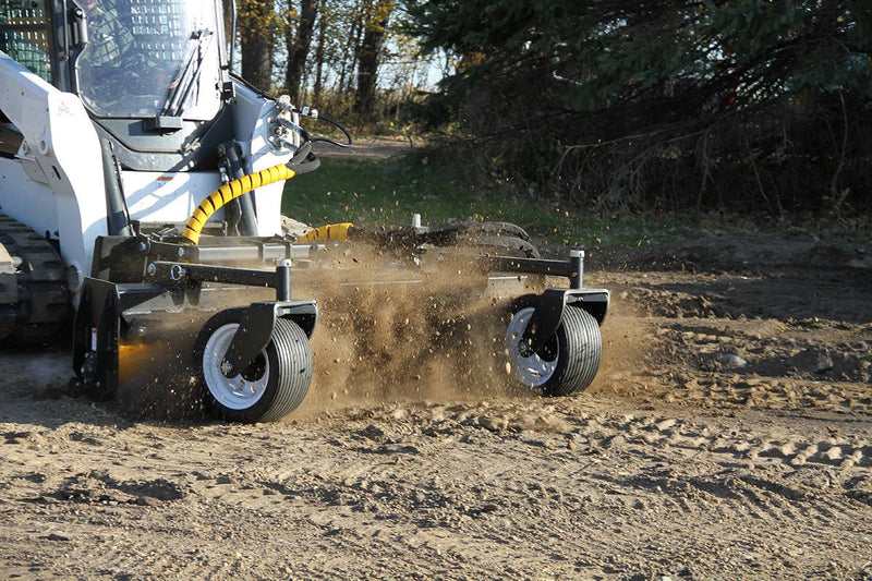 Sturdy, durable design adds weight for less vibration and more aggressive tilling