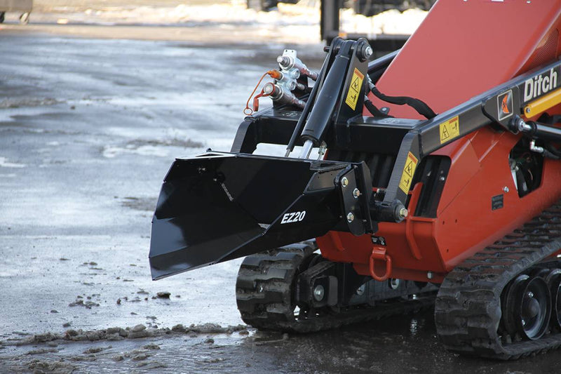 Designed for the lifting capacity of today's mini skid steers
