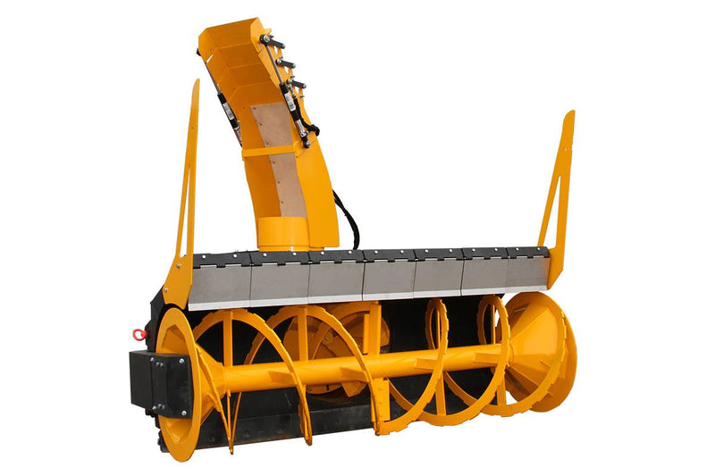 The Extreme-Duty Hydraulic Snowblower is designed to move huge volumes of snow quickly in the harsh- est environments, from mountain to municipality snow removal.