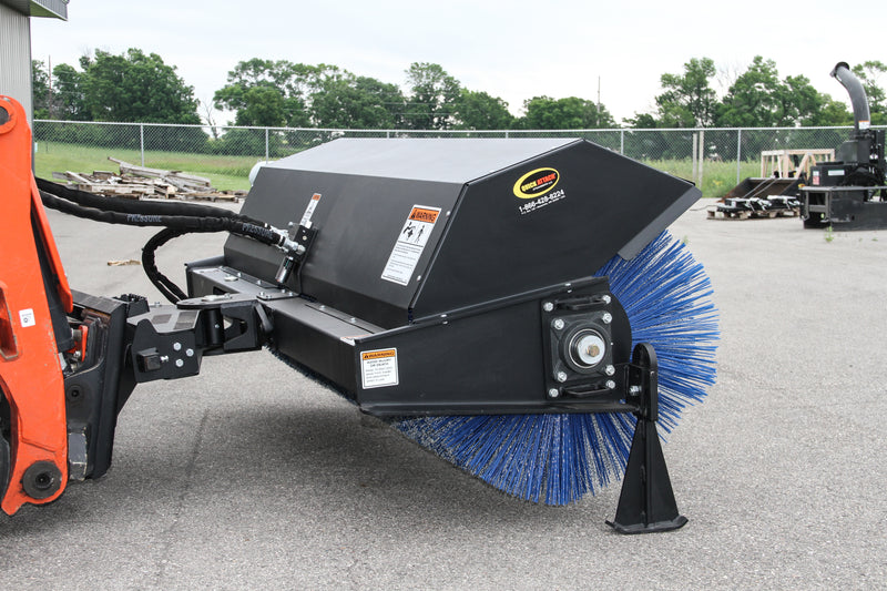 Quick Sweep HD-Commercial Power Angle Broom-Starting @ $249/Month