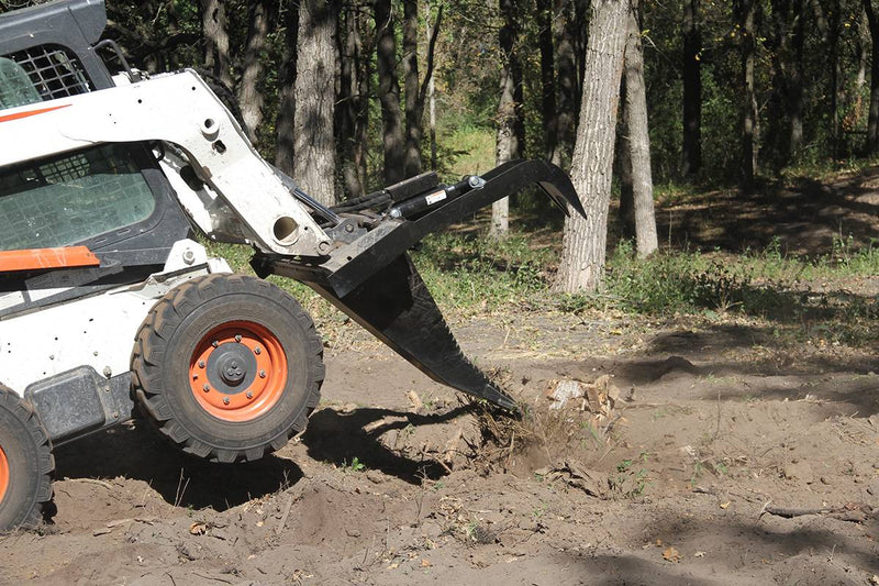 Mighty Dig-n-Grab- Industrial Stump Bucket Grapple-Starting @ $104/Month