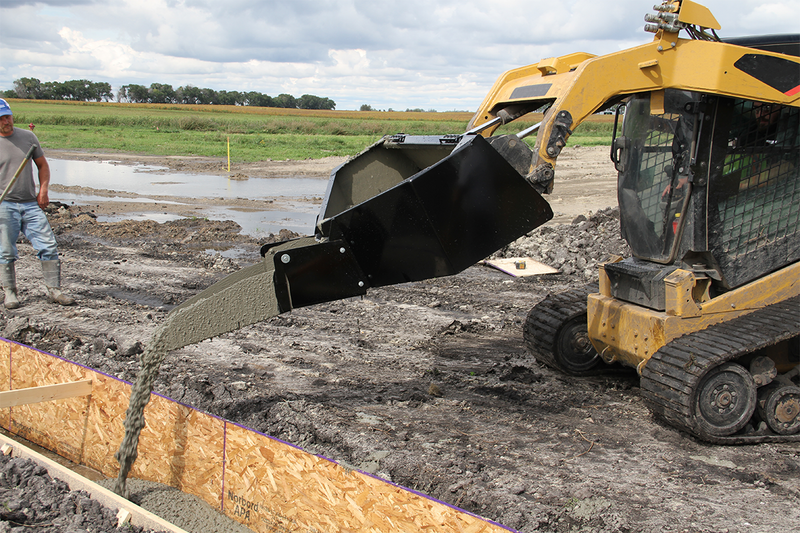 Mud Hopper Concrete Bucket-Starting @ $63/Month
