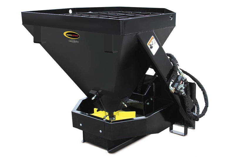 The Salt, Sand and Fertilizer Spreader is an essential part of your attachments arsenal. The large hopper capacity and material release controls work together for increased efficiency on the job.