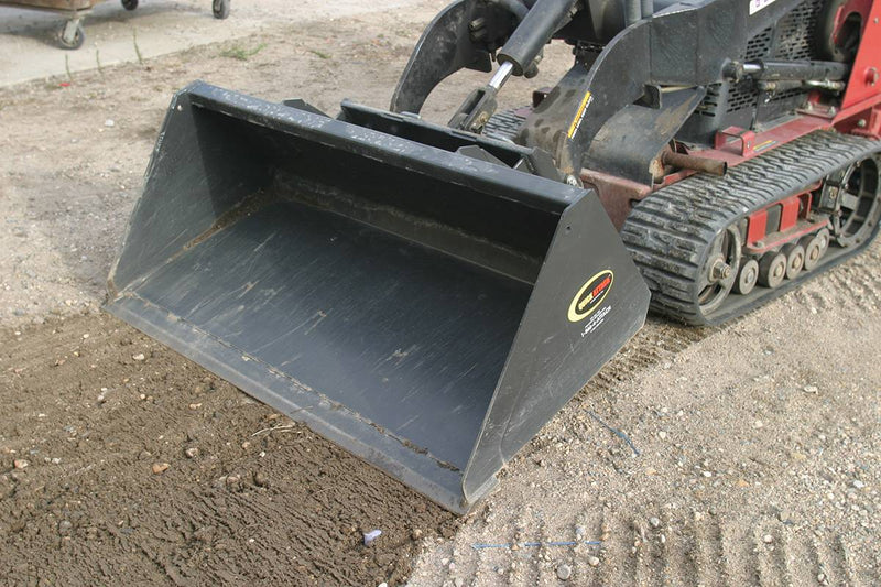 Quick Move Mini-Industrial Low Profile Material Bucket Mini-Starting @ $29/Month