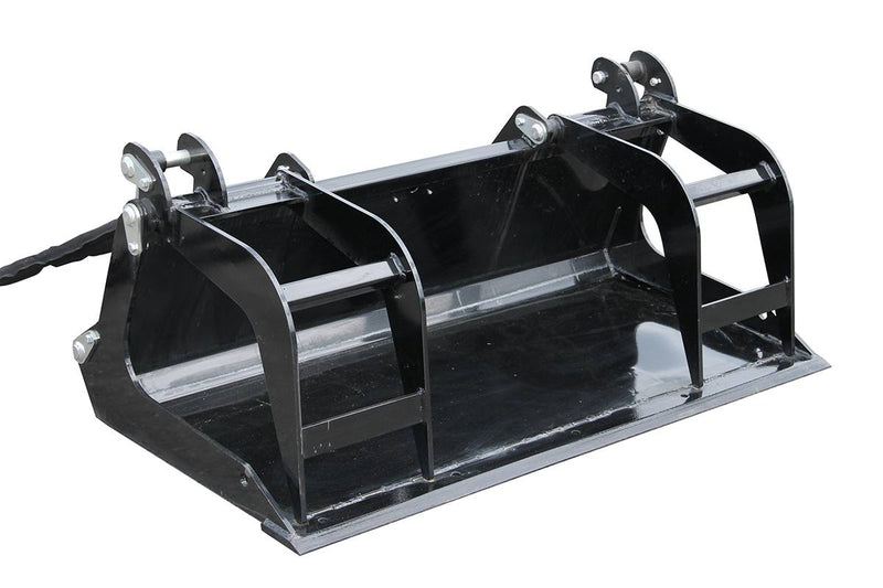 Quick Scrape-n-Grab Mini Grapple Bucket