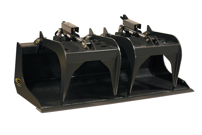 Quick Scrape-n-Grab-Industrial Solid Bottom Grapple Bucket-Starting @ $163/Month