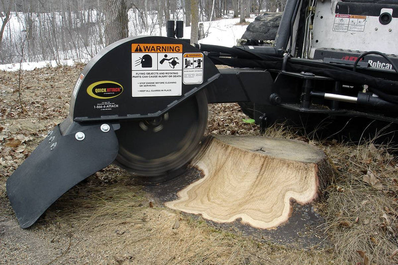Quick Stump-Away-Industrial Stump Grinder-Starting @ $263/Month
