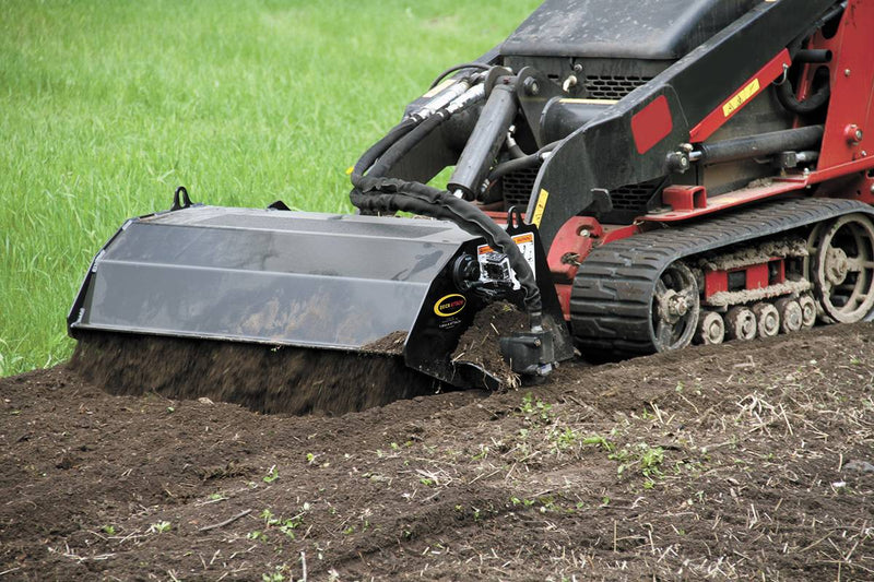 Break new ground for gardens or food plots